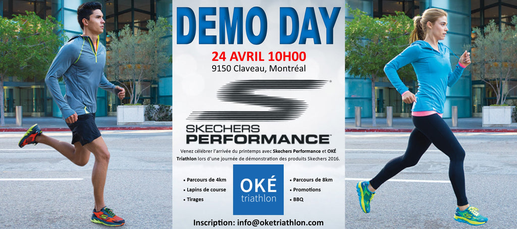 DEMO DAY Skechers - 24 avril 2016