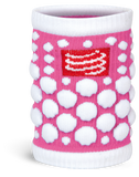 Protège-poignet Compressport super-absorbants (SWEAT band 3D dots)