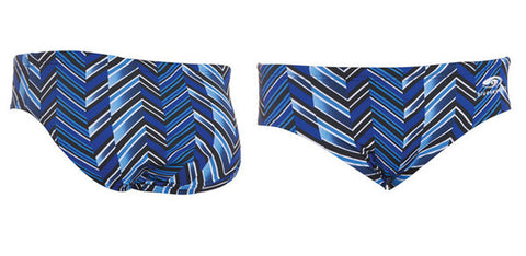 Maillot de nage blueseventy Chevron Brief, Homme