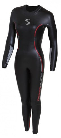 Wetsuit Synergy Adrenaline, avec Manches, Femme