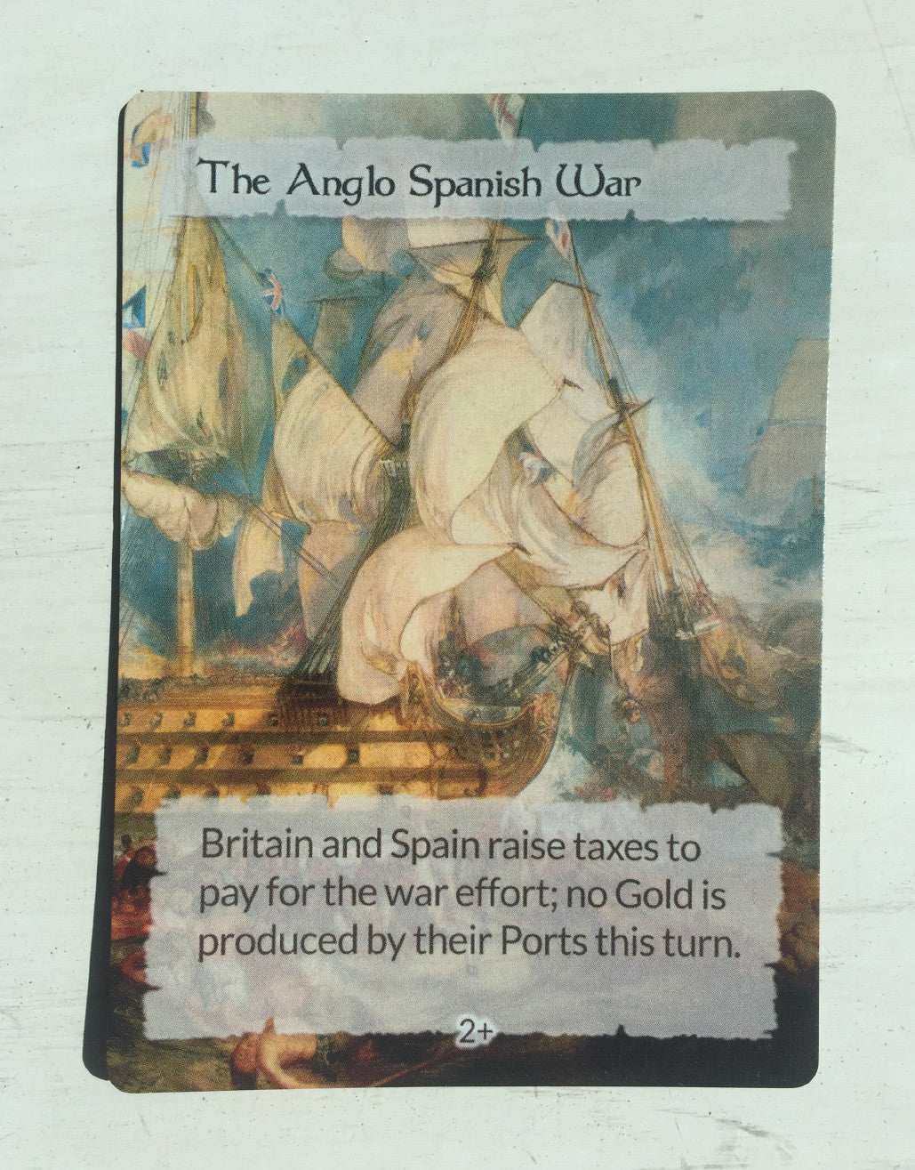The Anglo Spanish War