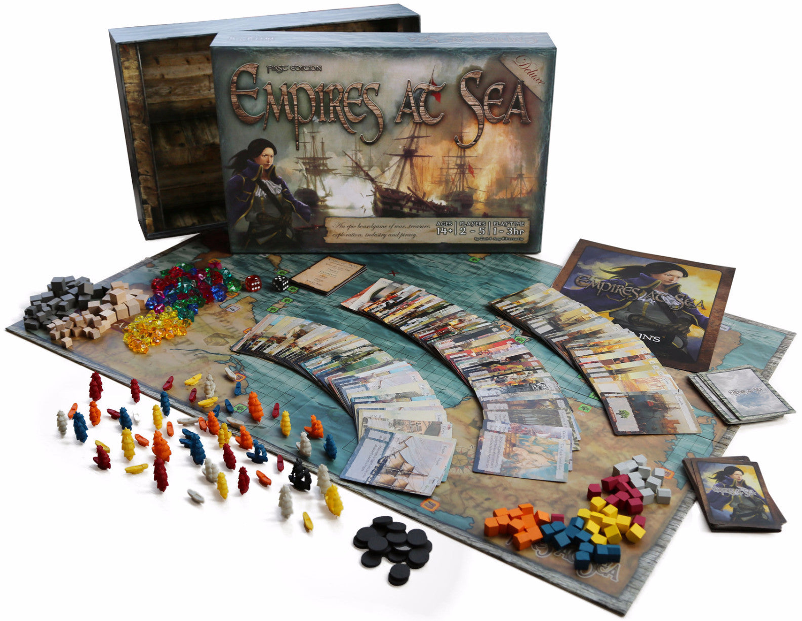 Empires at Sea - First Edition