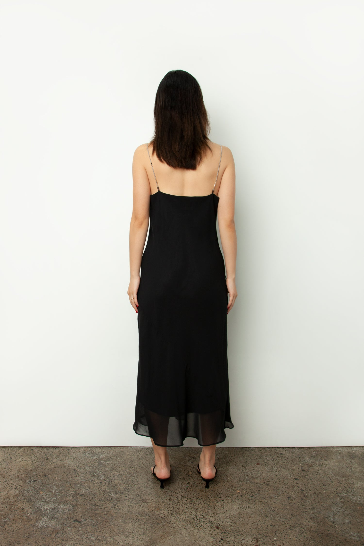 CHAIN SLIP DRESS
