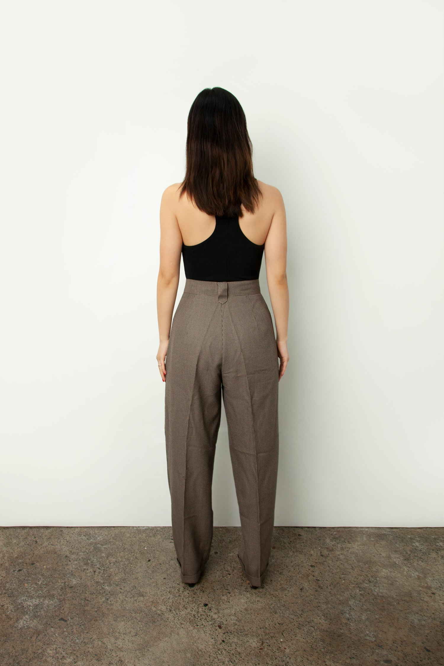 HOUNDSTOOTH TROUSER