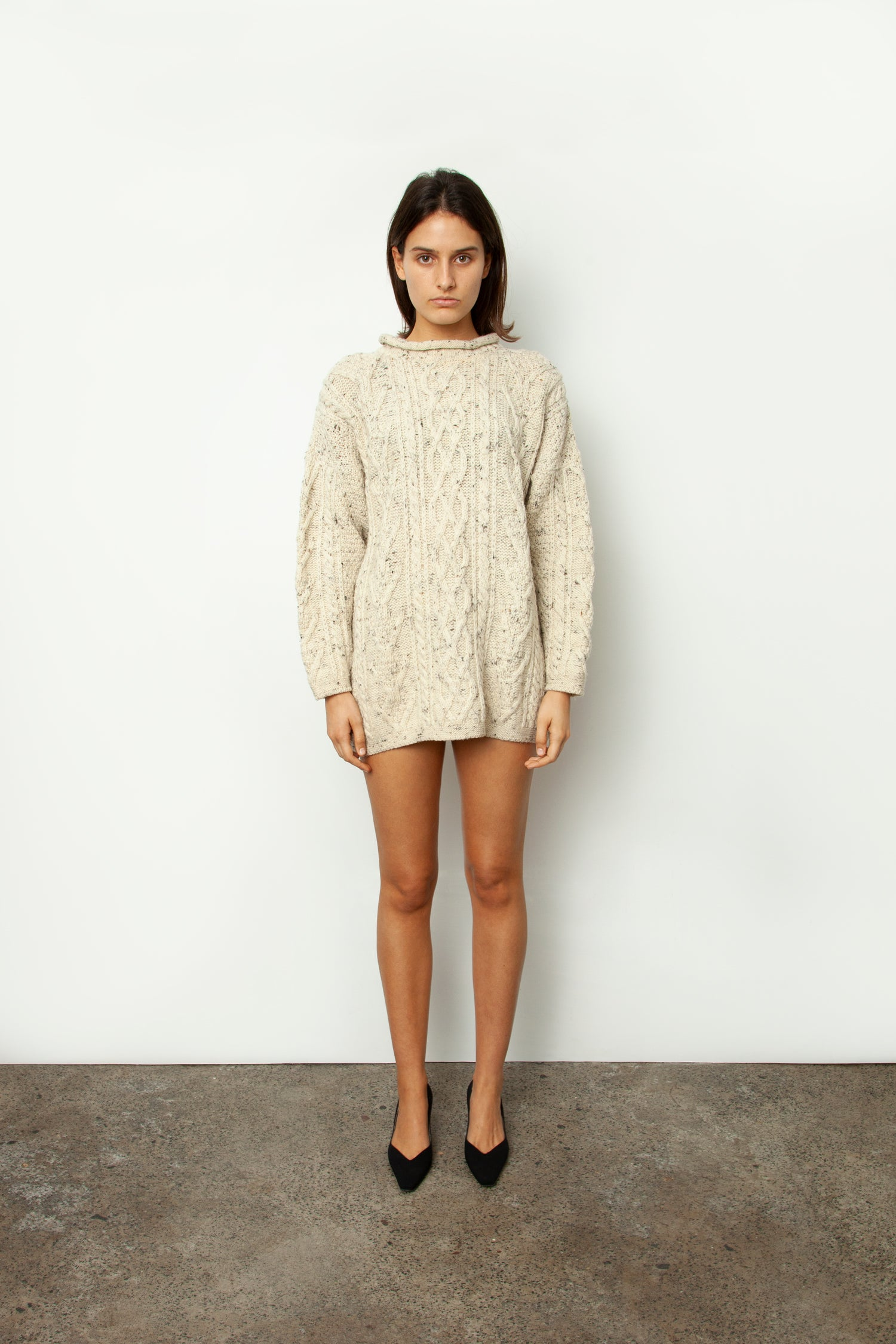 SPECKLED KNIT