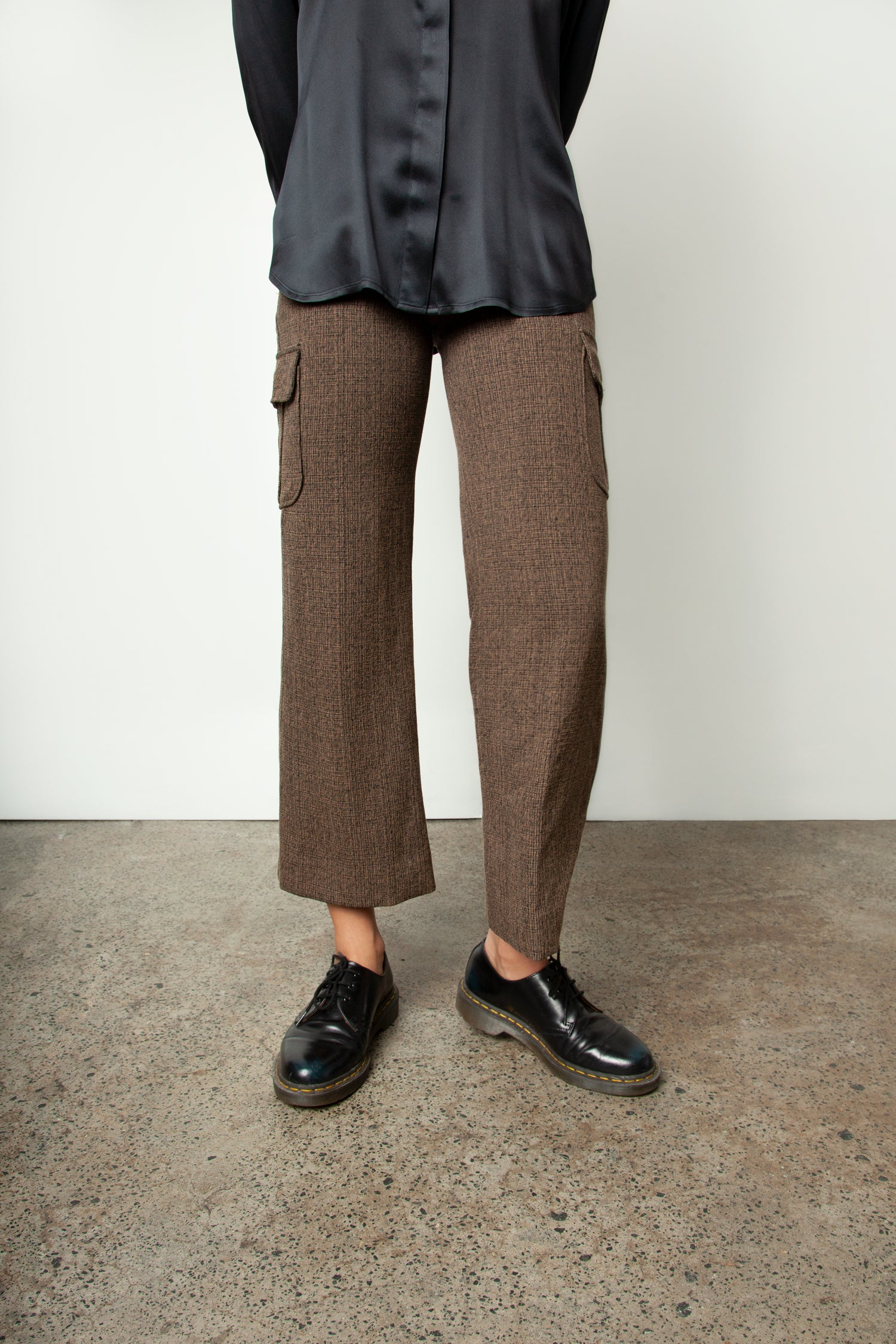 PATCH POCKET CULOTTES