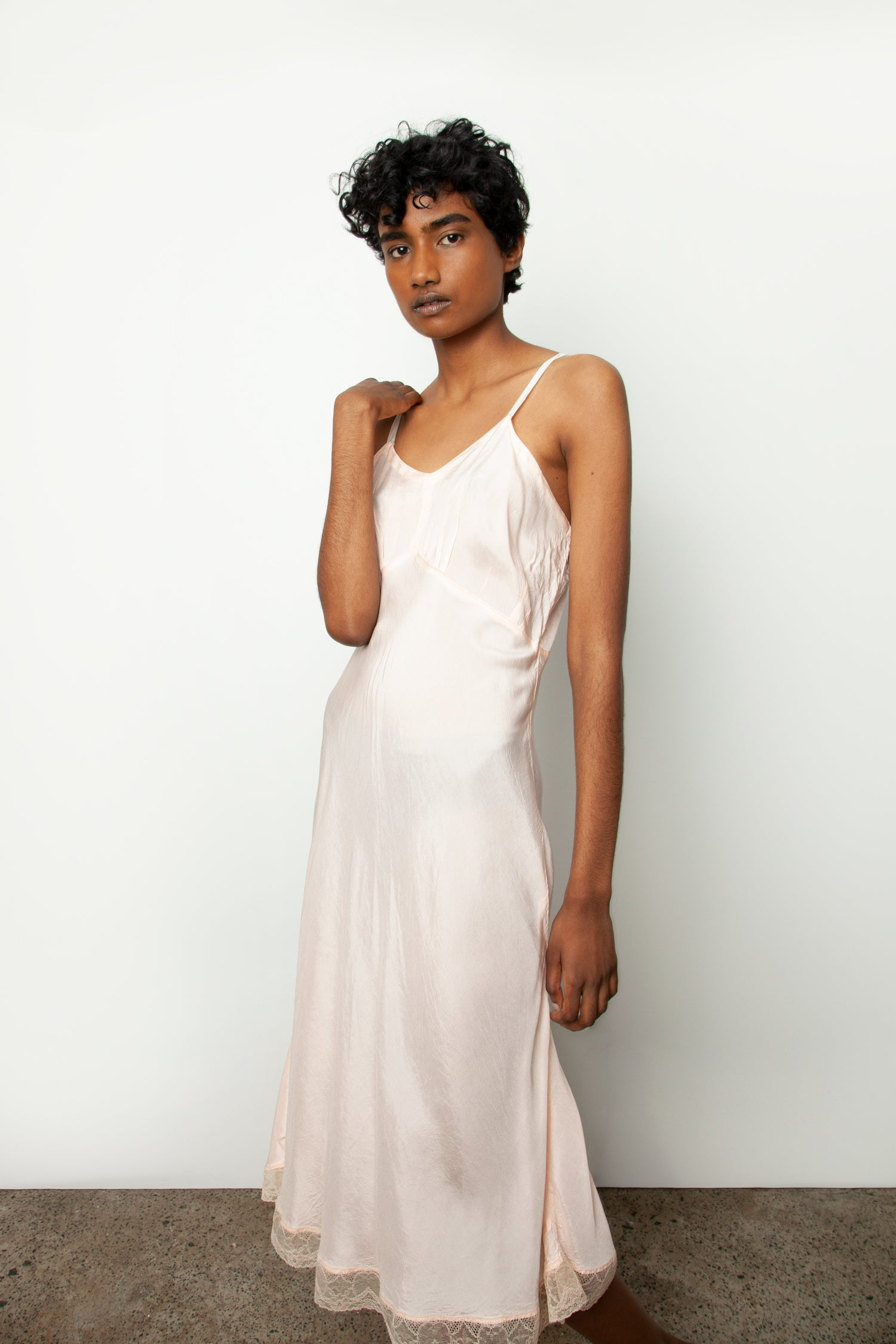 FORTIES SLIP DRESS