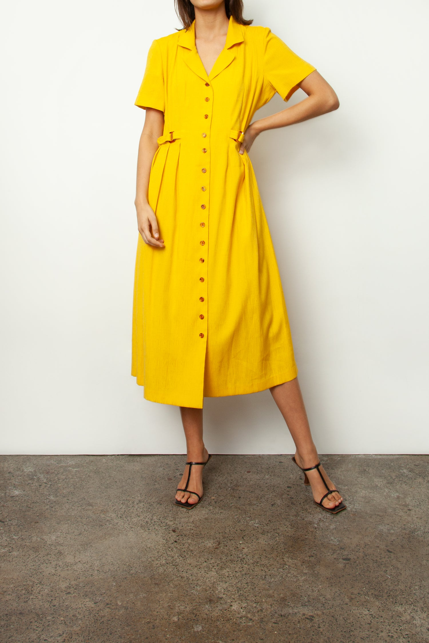 DANDELION SHIRT DRESS
