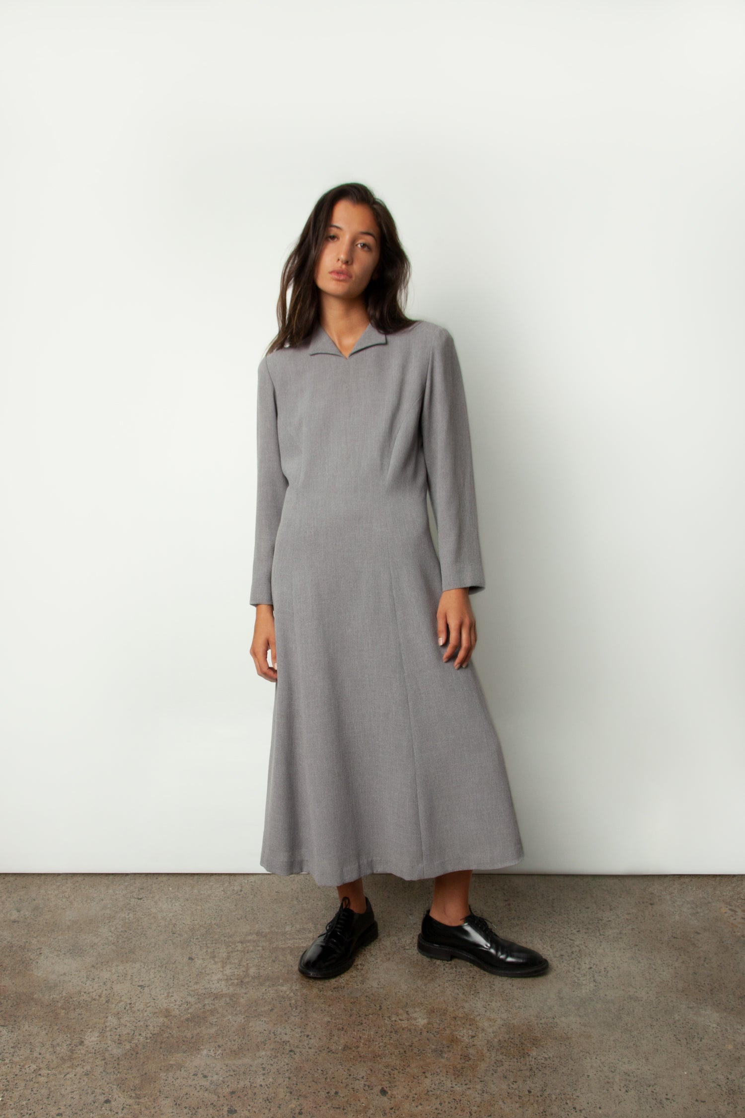 TAILORED MIDI DRESS