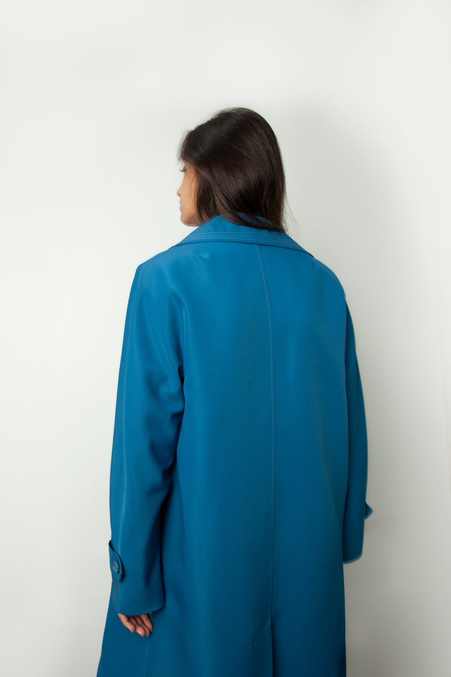 AZURE TRENCH COAT