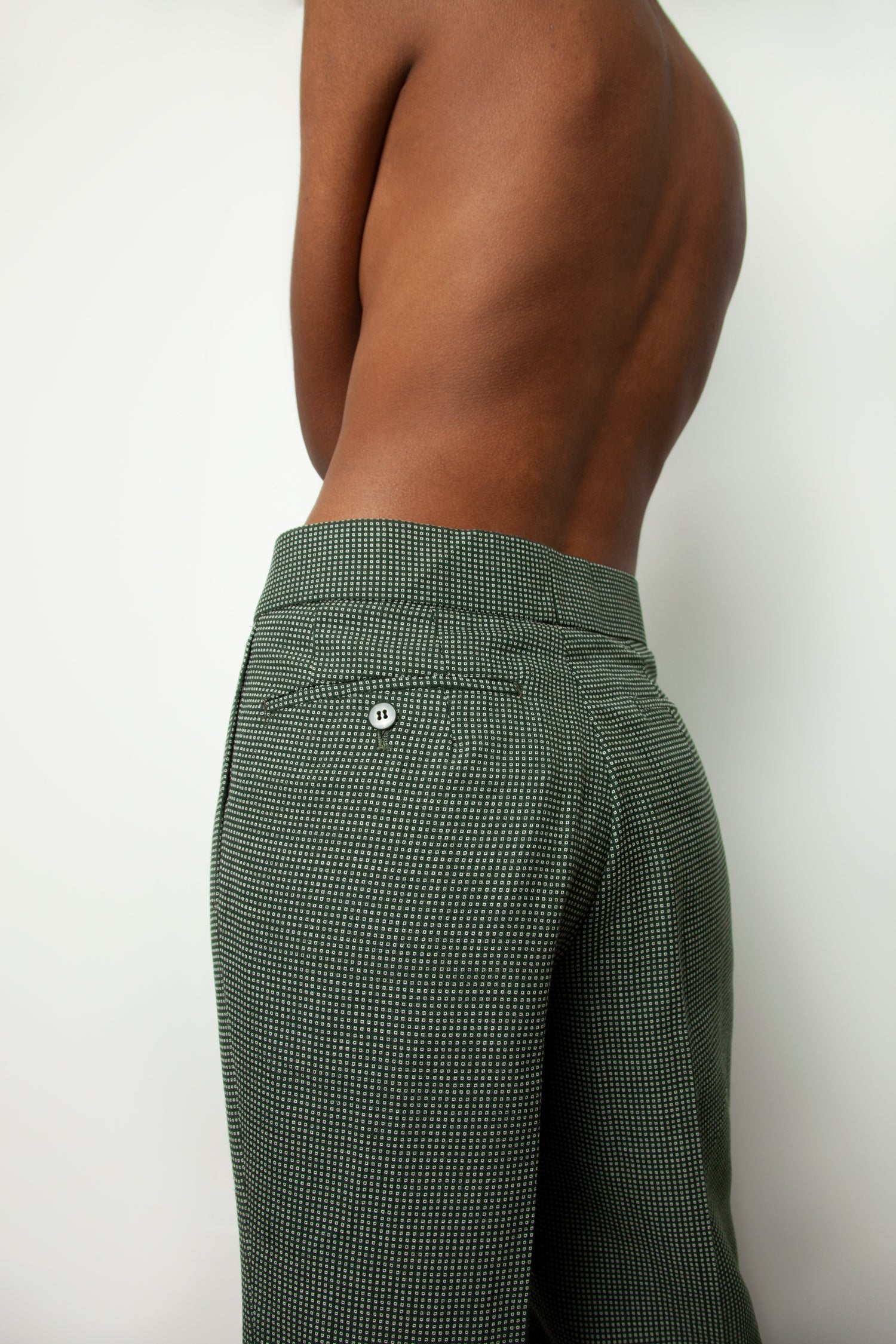 PATTERNED MENS TROUSERS