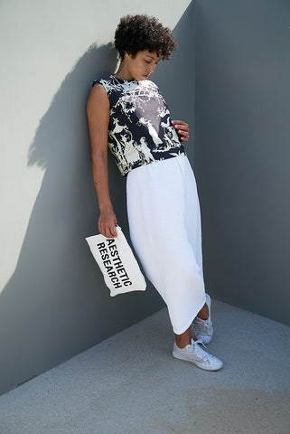 PRE-ORDER Black Toile Crop Top
