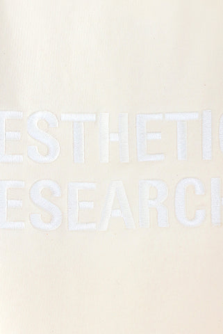 Short Sleeve Sweat - Natural White - Aesthetic Research