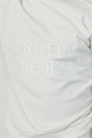 Aesthetic Research Sweat All White
