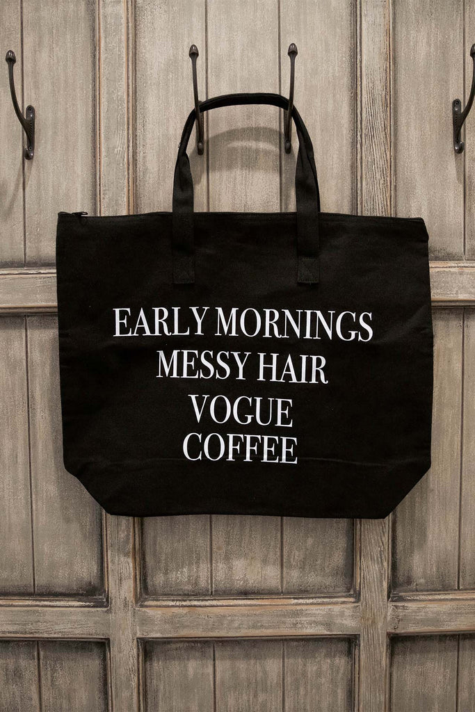 Early Mornings Tote