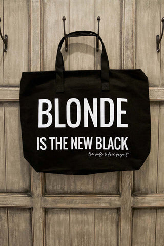 Blonde Is The New Black Tote