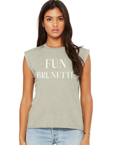 Fun Brunette Tee - Women's