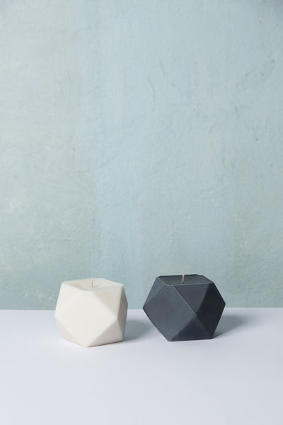 The Cuboctahedron Candle - Lime and Coconut