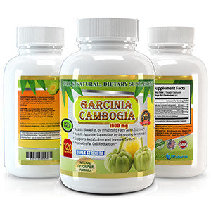 Garcinia Cambogia Pure Extract 1600mg - 120 Veggie Capsules – It works to burn off fat before it can accumulate in your body. You can increase your metabolism, boost your digestive system and sleep better at night. You will be healthier and happier.
