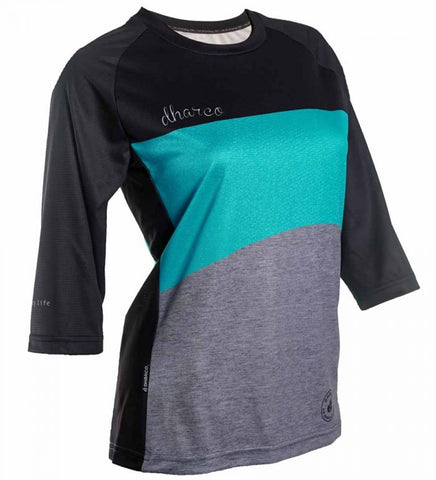 DHaRCO - Womens 3/4 Sleeve Jersey - Blue/Grey