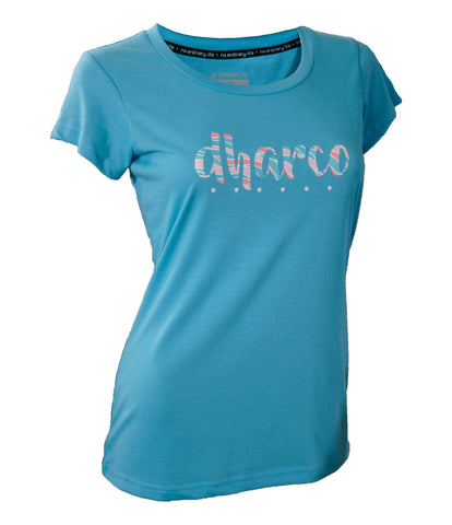 DHaRCO - Womens Tech T - Baby Blue
