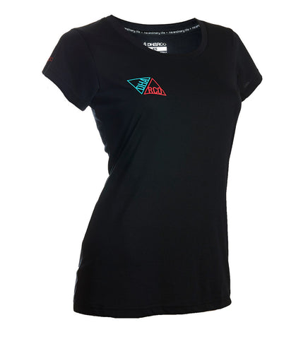 DHaRCO - Womens Tech T - Black Triangles
