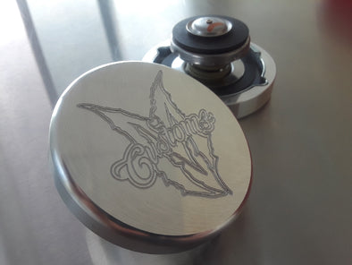 CUSTOM BILLET SMOOTH EDGE RADIATOR CAP