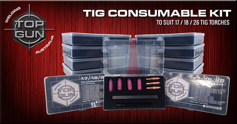 Top Gun Tig 17/18/26 Consumable Kit