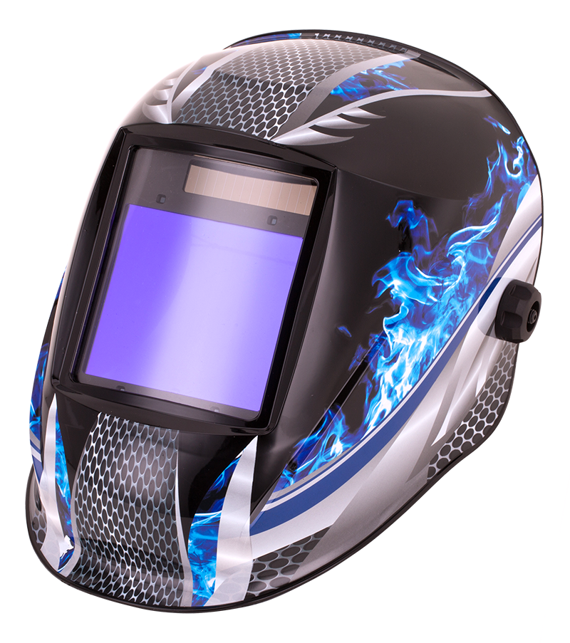 Top Gun TITAN Auto-darkening Welding Helmet Cold Carbon