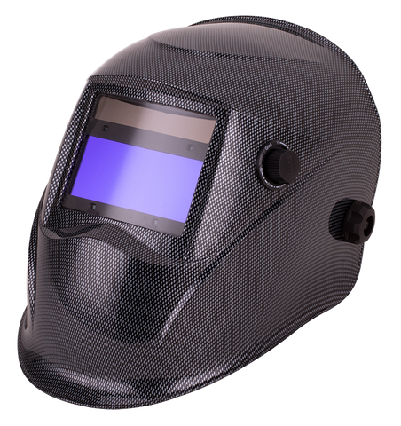 Top Gun Warrior Auto-darkening Welding Helmet Carbon Fibre
