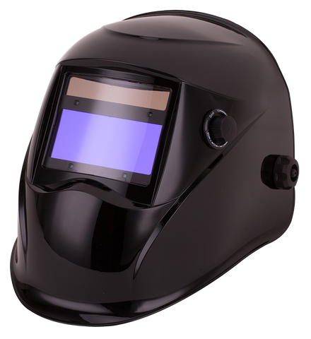 Top Gun Warrior Auto-darkening Welding Helmet Gloss Black