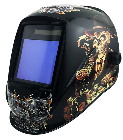 Top Gun TITAN Auto-darkening Welding Helmet Rich Smoke
