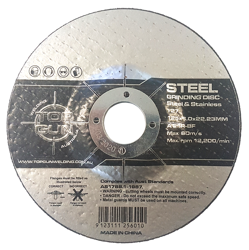 "Top Gun Grinding Disc 5"" 24 Grit"