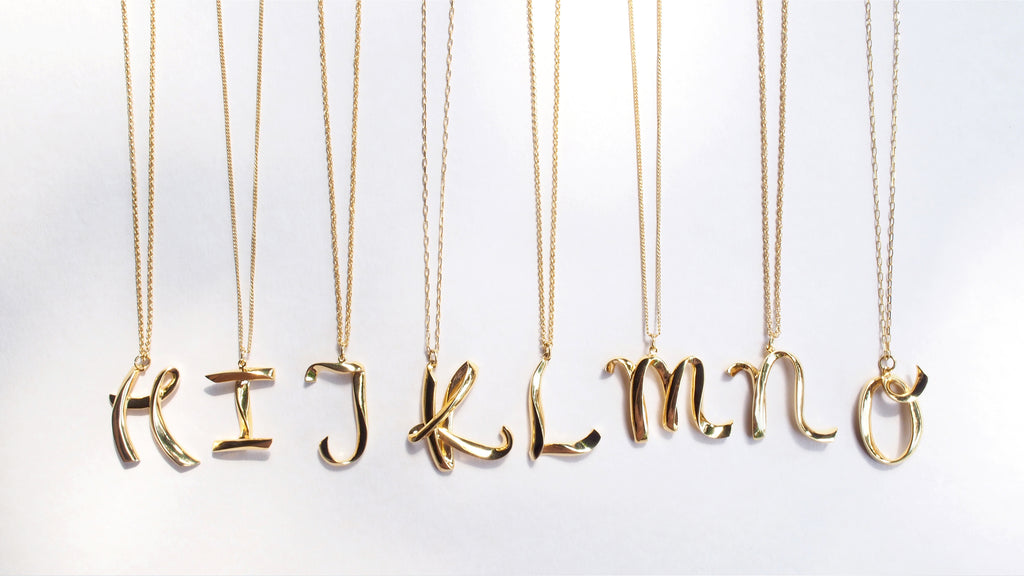Alphabet O Necklace