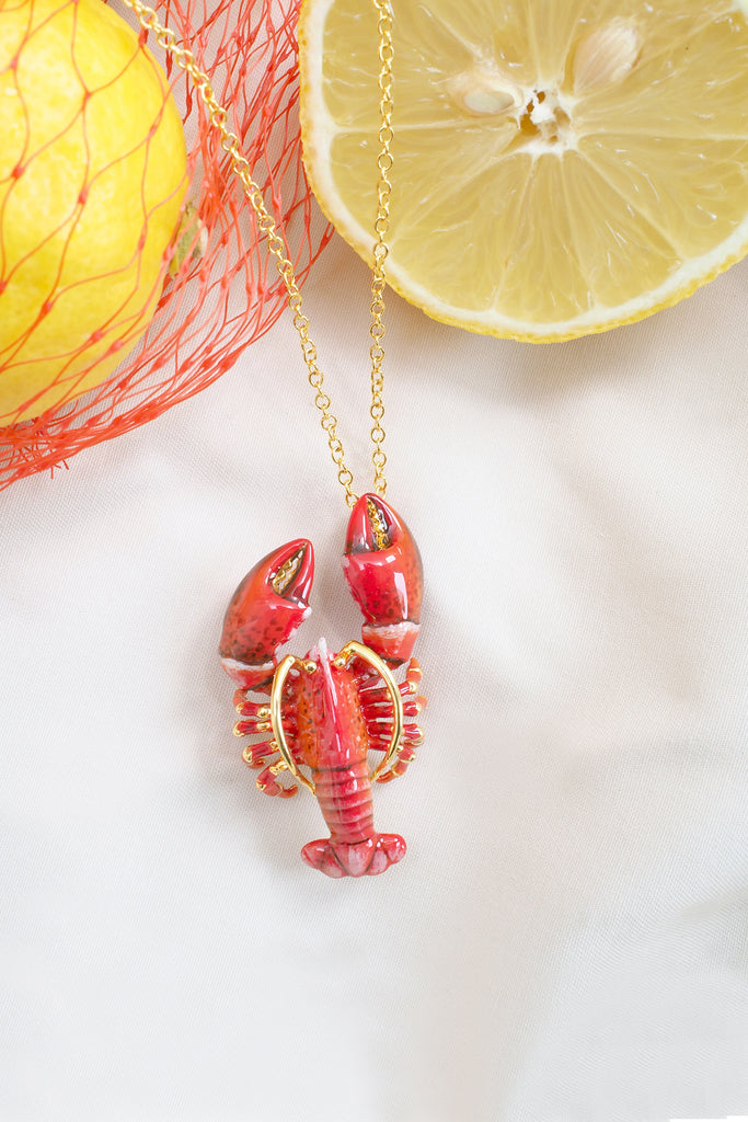 Red Lobster Necklace
