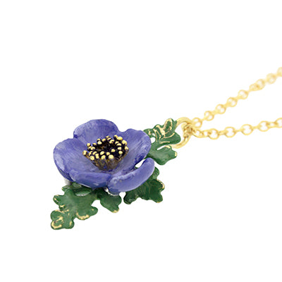Anemone Necklace Violet