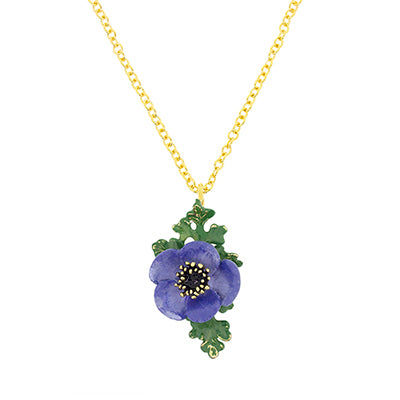 Anemone Necklace Violet | BLOOM