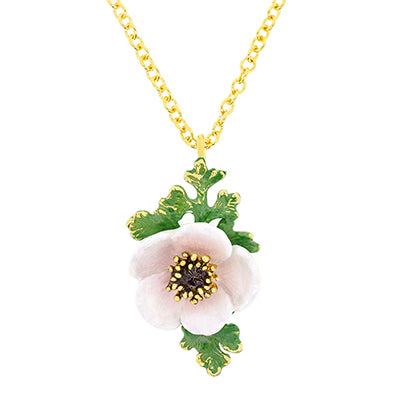 Anemone Necklace White | BLOOM