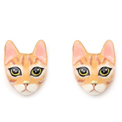 Chompoo Cat Earrings