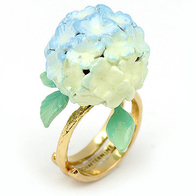 Hydrangea Blue Ring | BLOOM