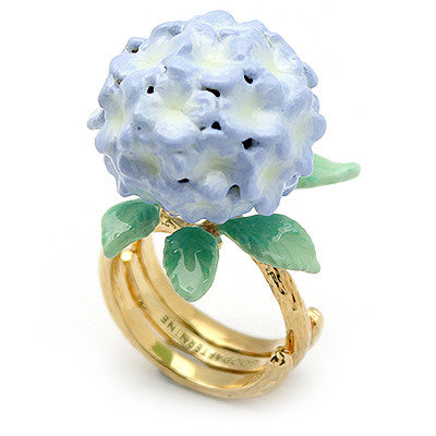 Hydrangea Purple Ring