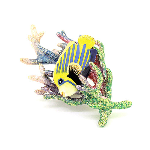 AngelFish and Reef Brooch