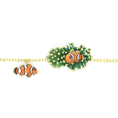 Clownfish and Sea Anemone Bracelets | Ocean Instruments