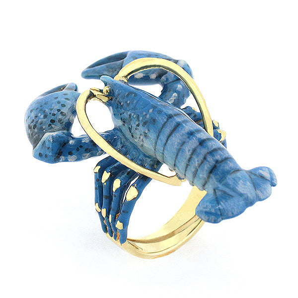 Blue Lobster Ring | Ocean Instruments