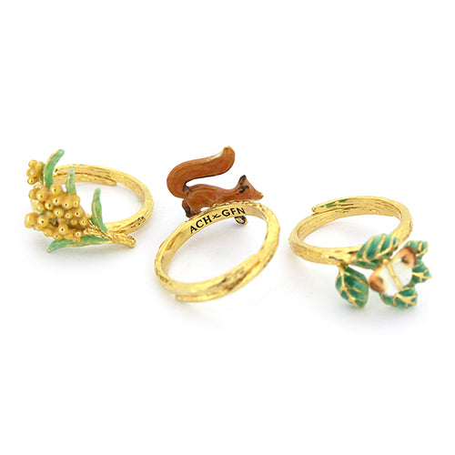 ACHxGFN Trio Stacking Ring