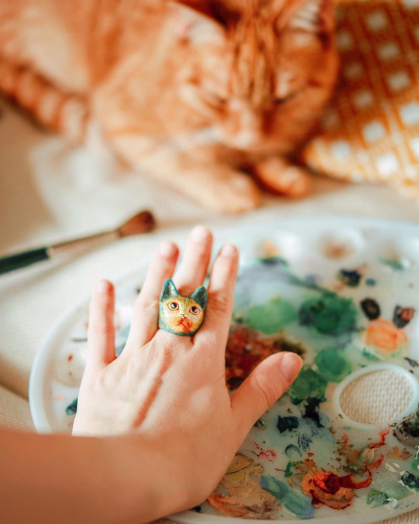 Vincent Cat Ring