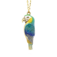 Arara Macaw Whistle Necklace