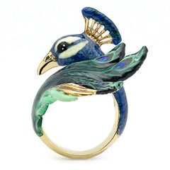 Peacock Ring | BALLERINE BIRD