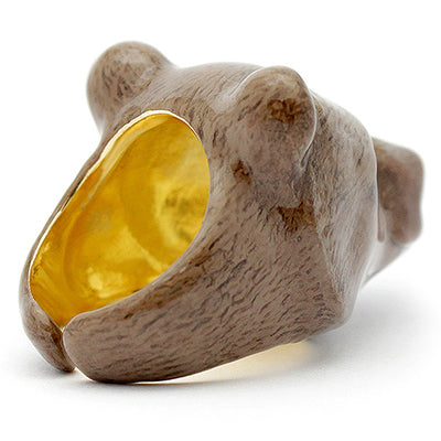 Tony Grizzly Bear Ring