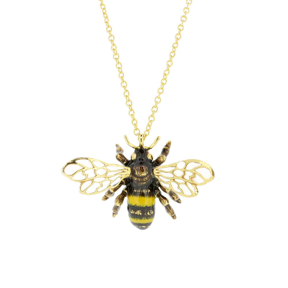 Bee Honey Bee Necklace